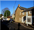 ST4287 : Derelict Newport Road house,  Magor, Monmouthshire by Jaggery