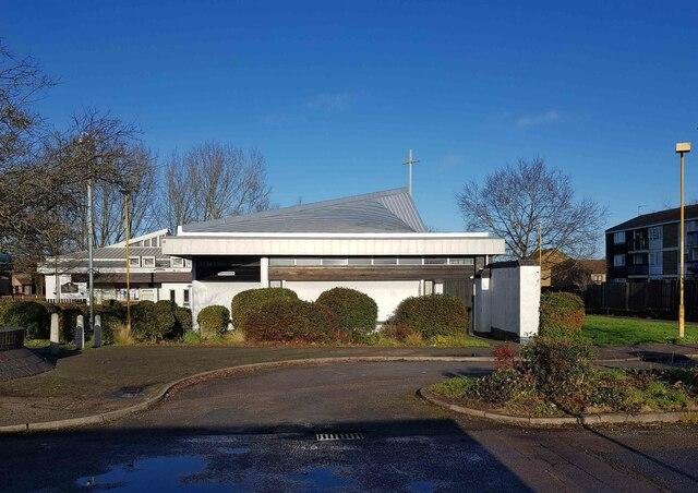 Hemel Hempstead: The Church of the Resurrection, Grovehill