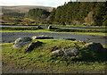 SX6870 : Car park, Venford Reservoir by Derek Harper