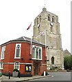 TM4290 : Beccles - Town Hall by Colin Smith