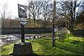 TF9743 : Stiffkey village sign by Adrian S Pye