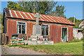 SO5877 : Bedlam War Memorial and reading room by Ian Capper