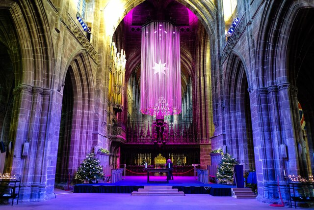 Starry Starry Night at Chester Cathedral