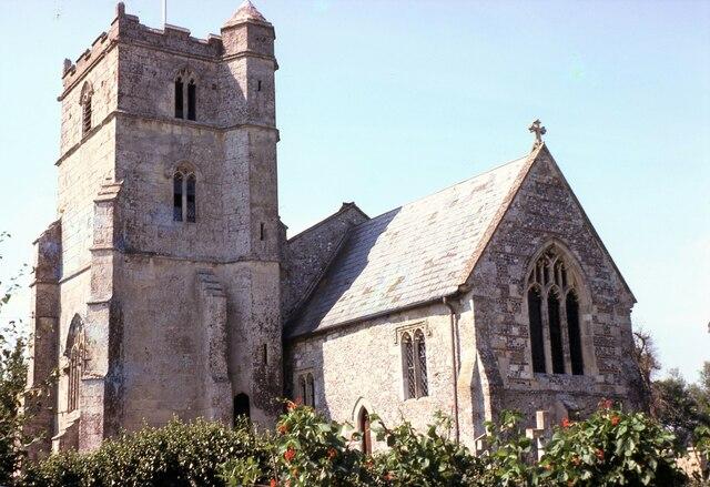 Coombe Bissett St (Saint) Michael