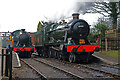SK3706 : Two locomotives at Shackerstone Station by Chris Allen