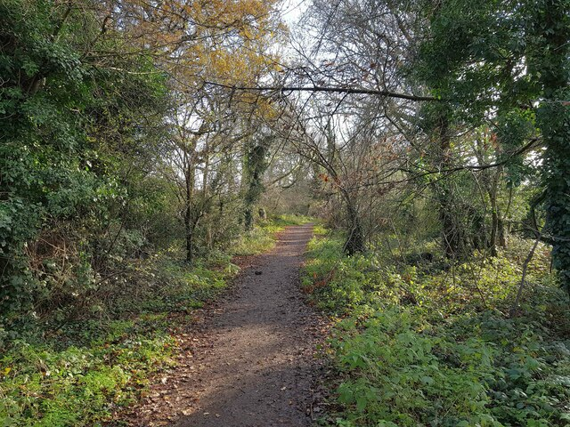 Hemel Hempstead: Green lane near Cupid Green Lane