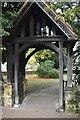 TQ5939 : Lych gate, Church of St James by N Chadwick