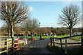 SX8558 : Ramslade Caravan Club Site by Derek Harper