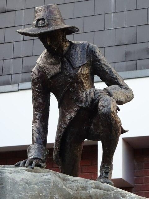 Statue of Edward Winslow