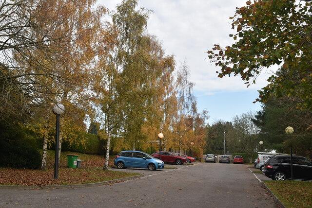 Car park, Kent & Sussex Crematorium