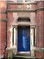 NZ3181 : Magistrates Entrance, Former Police Station, Bridge Street, Blyth by Geoff Holland