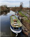 SO8071 : The River King moored along the River Severn by Mat Fascione