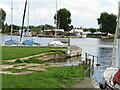 TG3207 : Coldham Hall - Slipway by Colin Smith