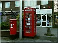 SE2543 : Postbox and book exchange on Breary Lane by Stephen Craven