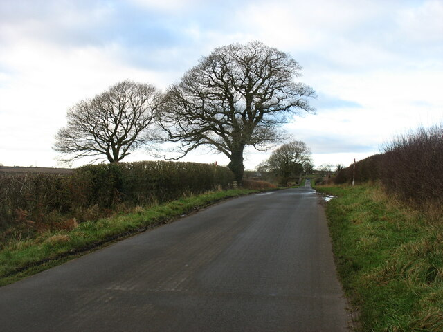Minor road heading for Wetheral