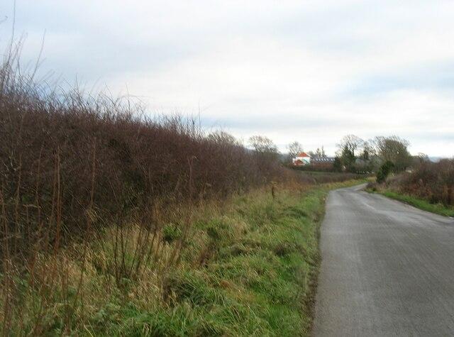 Minor road heading for Armathwaite