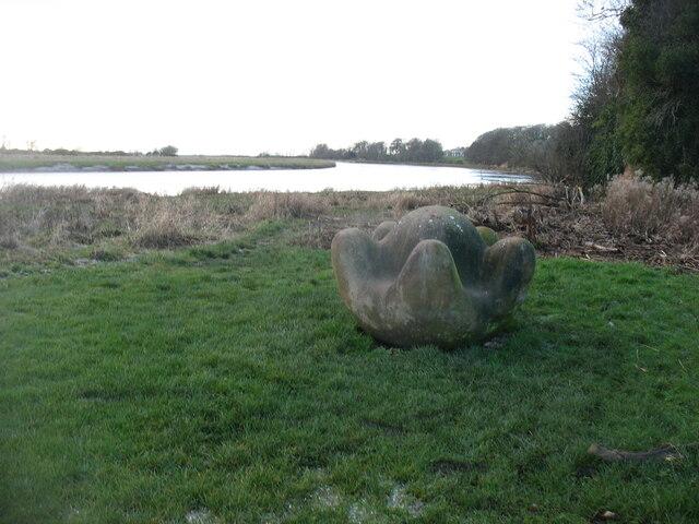 "The ""Global Warming"" sculpture, Rockcliffe"