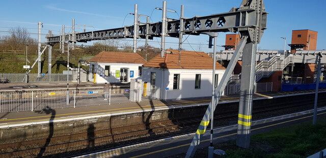 Iver Station Platforms