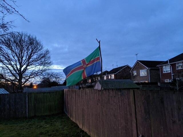 Lincolnshire flag