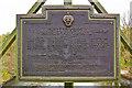 SJ6902 : Plaque, Jackfield and Coalport Memorial Bridge by Ian Capper
