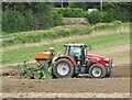 TQ0952 : West Horsley - Ploughing by Colin Smith