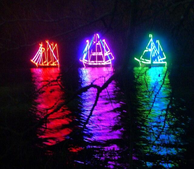"""Blenheim Illuminations - (5) - """"I saw three ships ..."""""""