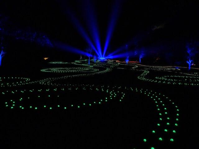 Blenheim Illuminations - (9) - Main illuminated feature (1)
