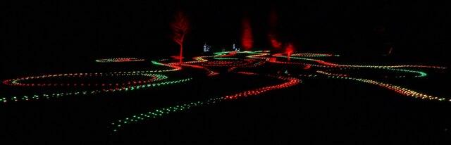 Blenheim Illuminations - (11) - Main illuminated feature (3)