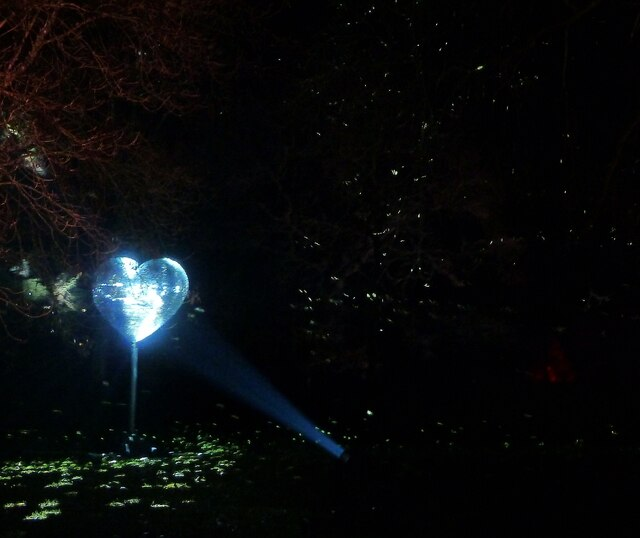 Blenheim Illuminations - (16) - Coruscating heart