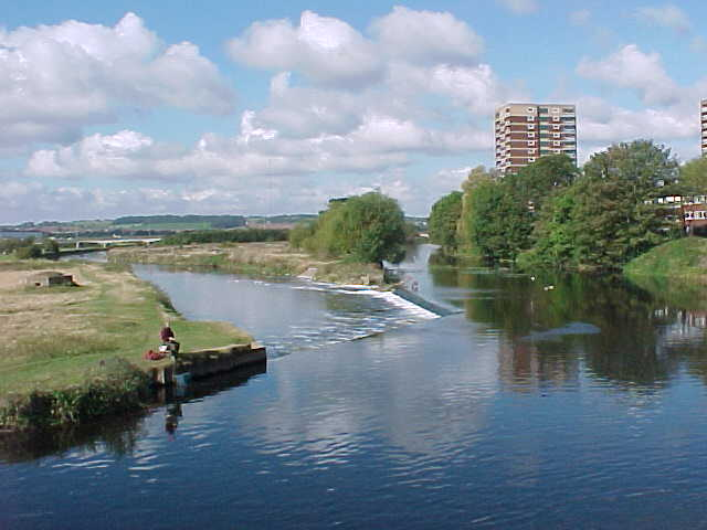 The River Tame from Lady Bridge