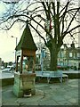 SE1646 : The Fountain of Life, Main Street, Burley-in-Wharfedale  by Stephen Craven