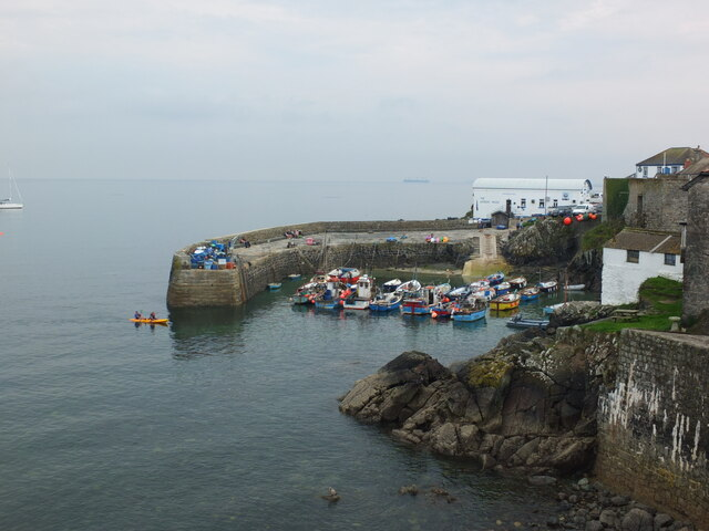 The harbour at Coverack