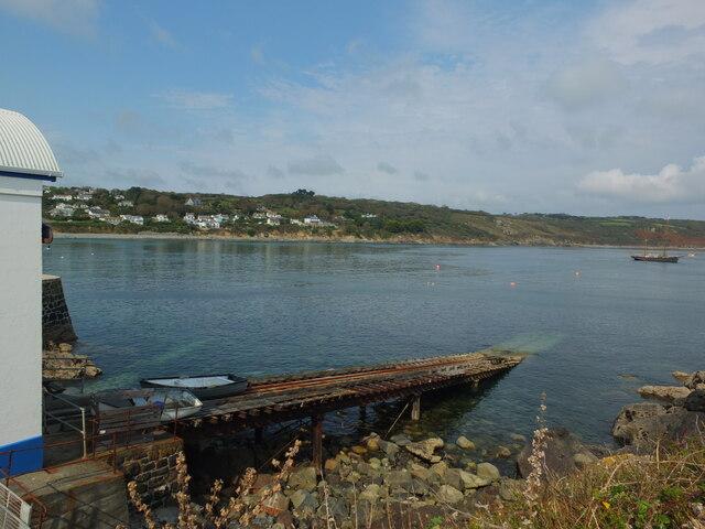Lifeboat Slipway at Coverack