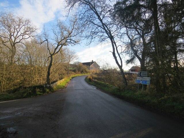 T-junction near Rathillet