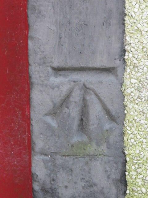 Benchmark on Kilmany Church
