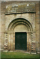 SO6554 : The north doorway, St Peter, Bromyard by Humphrey Bolton
