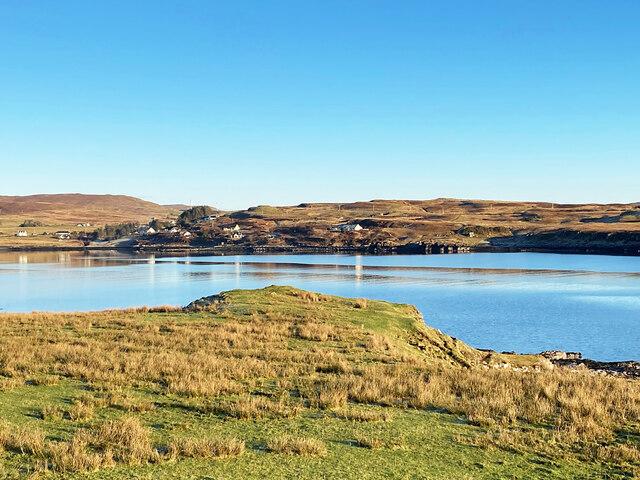 Western shore of Loch Caroy