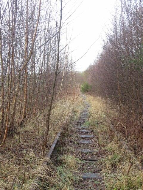 Former Kinglassie Colliery Line