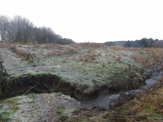 Lochty Burn in winter