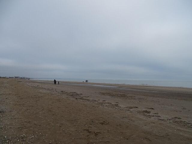 Greatstone-on-Sea beach