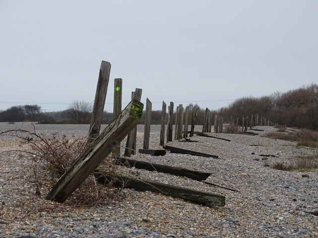 Fencing along dismantled railway