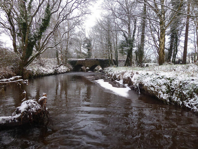 Wintry along Ballinamullan Burn