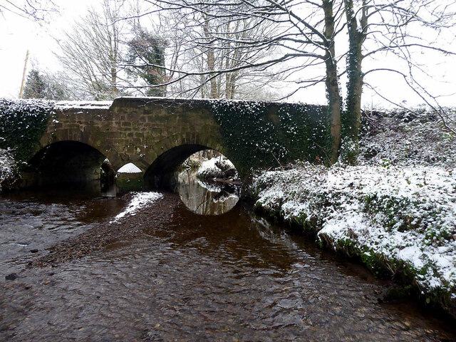 Snow along Ballinamullan Burn