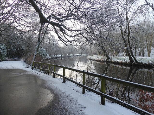 Frosty along the Camowen River