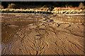 NH7458 : Stream across the sand, Rosemarkie Bay by Julian Paren