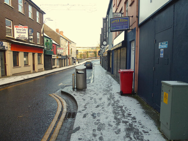 Empty street, Omagh