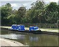 SJ8549 : Canal and River Trust workboat 'Amerton' at Middleport by Jonathan Hutchins
