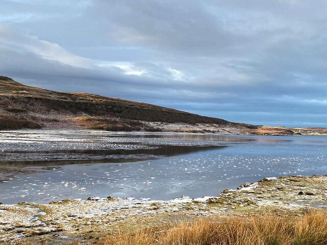 Ice near the head of Loch Eyre