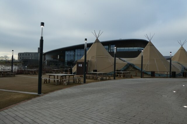 Tents and Ron Cooke Hub