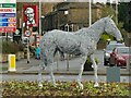 SE2337 : The white horse of Horsforth (2) by Stephen Craven